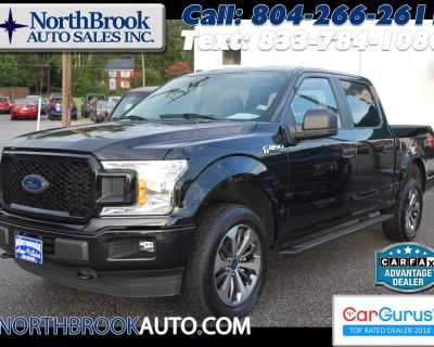 """Used 2019 Ford F-150 4WD SuperCrew 145"""" STX"""
