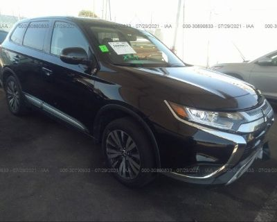 Salvage Black 2019 Mitsubishi Outlander
