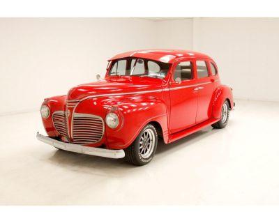 1941 Plymouth 4-Dr Sedan