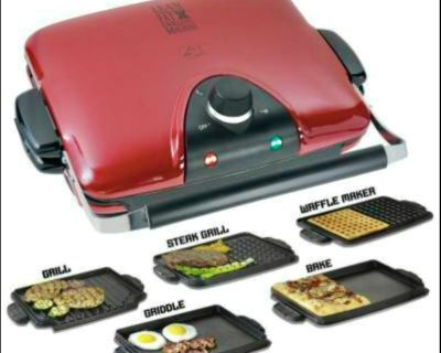 JUST lowered! ~ George Foreman 'Next Grilleration G5' Indoor / Outdoor Grill