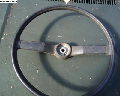 Bus Steering Wheel - Used 1974-79 (211 415 651B)