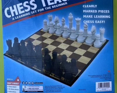 Learning chess set