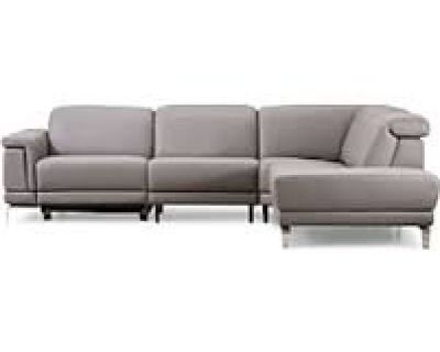 Nicoletti Portland Motion 2-Piece Sectional - Reg. $6935. Outlet price $2299. All Top Grain Leather
