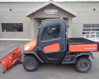 2014 Kubota RTV1100 - diesel w/climate cab and hydraulic plow Utility Vehicles North Mankato, MN