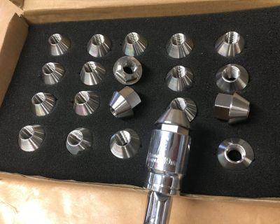 M12 x 1.5 Titanium Lug Nuts