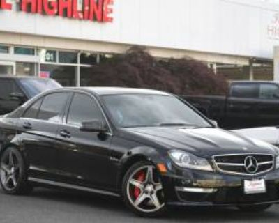 2012 Mercedes-Benz C-Class C 63 AMG Sedan RWD