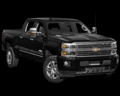 Pre-Owned 2017 Chevrolet Silverado 2500HD High Country with Navigation & 4WD