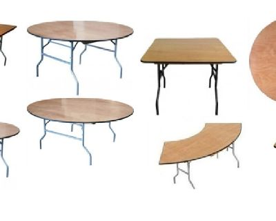 Wood Folding Tables at Larry Hoffman Chair