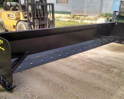 Linville Snow Plow Pusher Box LIFETIME WARRANTY