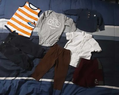 One week only-baby boys baby clothes lot