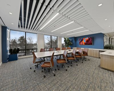 Boardroom in an Upscale Workspace, Chevy Chase, MD