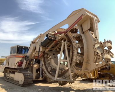 1985 Capitol CTC 960 Tracked Bucket Wheeled Trencher