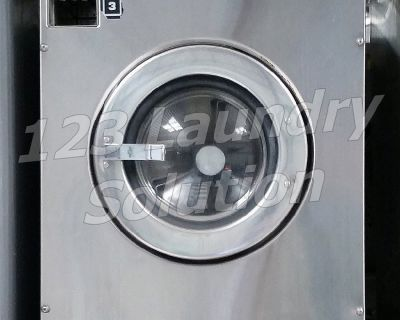 Maytag Front Load Washer 25LB MFR25PDCWS 110-120v Stainless Steel Used