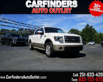 """Used 2014 Ford F-150 2WD SuperCrew 145"""" King Ranch"""