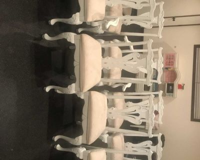 French Provincial Dinning Table Chairs