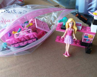 Barbie mega blocks set