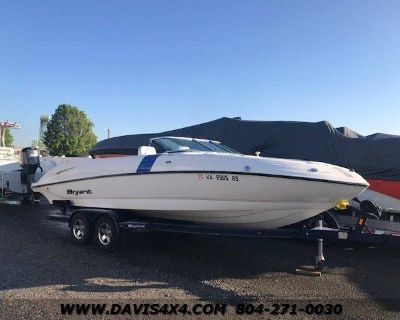 2010 BRYANT POWER BOAT 246 Bow Rider With MerCruiser 377 MAG Paired To 0