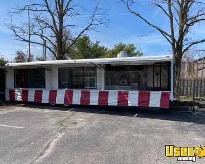 Wells Cargo 8' x 32' Street Food Concession Trailer / Mobile Kitchen