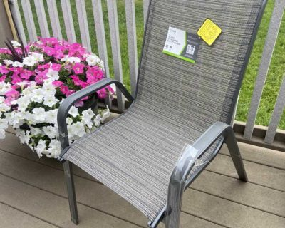 Sling Patio Chairs (Set of 4)