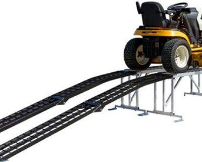 Lawn Mower-garden Tractor-atv Service Lift-storage Display Stand Platform+ramps