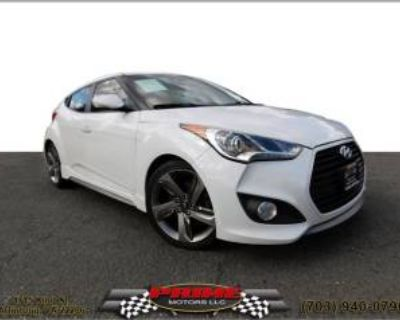 2013 Hyundai Veloster Turbo with Blue Interior Automatic