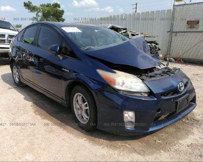 Salvage Blue 2010 Toyota Prius