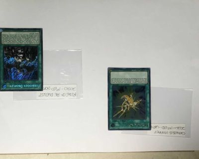 Yugioh! Holo Cards