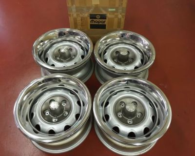 """Oe Plymouth,dodge 15"""" X 7"""" Rally Rims Cuda,challenger,charger,roadrunner,2944390"""
