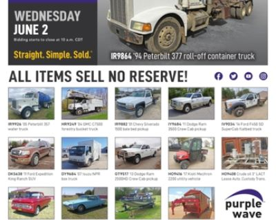 June 2 vehicles and equipment auction