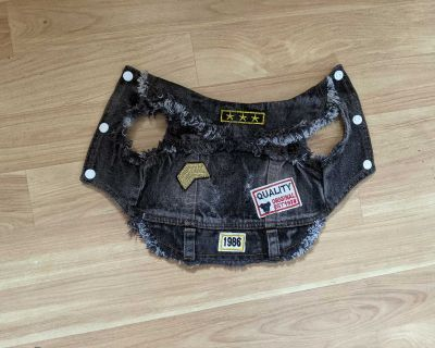 Small dog or cat Jean vest