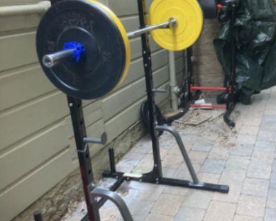 Weightlifting Rack