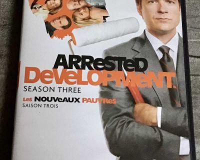 DVD tv series. Arrested Development season three