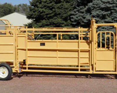 2020 For-Most Livestock Equipment Pro Series 450 & 375 Tub/ Alley / Chute Combinations