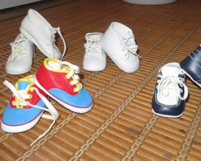 Lot of Baby Boy Shoes (size 1)