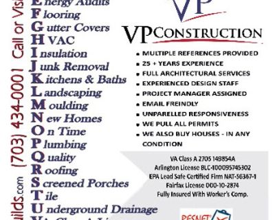 HOME RENOVATION Great Prices!!!
