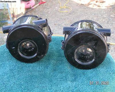 2 Knecht air filters for 356 Porsche