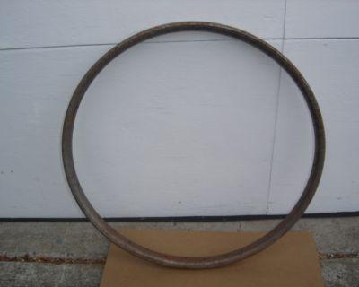 "26"" metal clad wood rims $40.00"