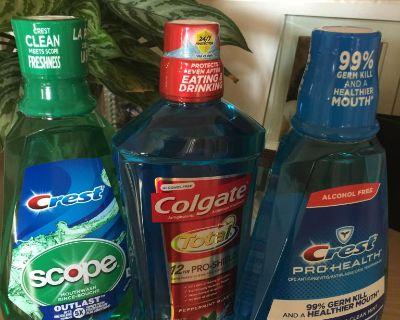 NEW-Shampoo/Conditioner/Mouthwash