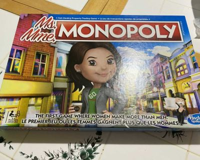 Board Game-Ms Monopoly