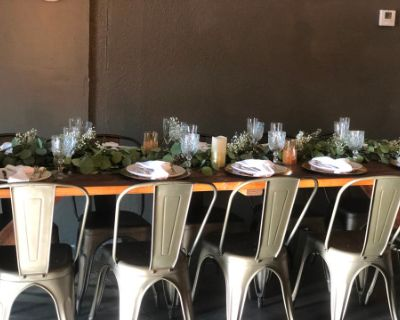 Rustic Indoor Event Space, Long Beach, CA