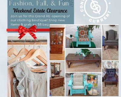 Fashion, Fall, & Fun Estate Clearance!