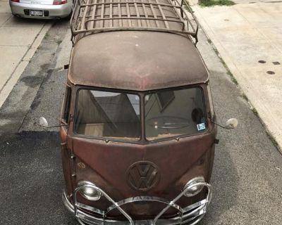 Vintage Bus Roof Rack