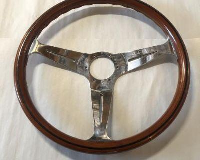 Nardi vintage wood steering wheel 911 dated 5/79