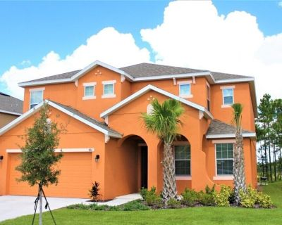 6 bedrooms - Private Pool & Spa - Gym - Near golf courses & Disney - Watersong