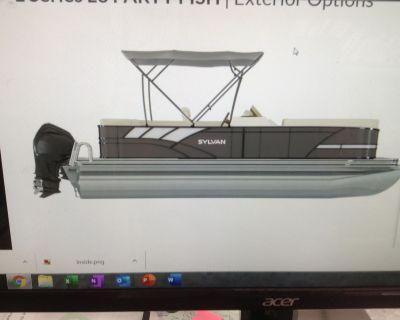 2021 Sylvan L-3 Party Fish Pontoon Boats Hutchinson, MN