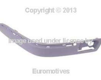 Mercedes W210 (00-02) Impact Strip Front Bumper Left Oem Lh Energy Absorber Stop