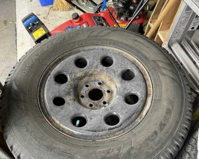 Canyon/Colorado size rims with large snow tires