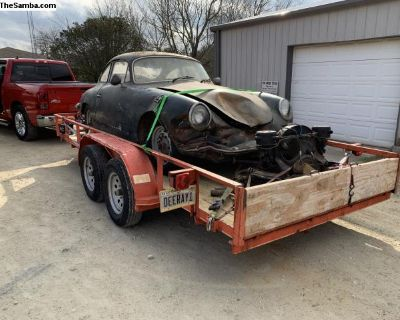 [WTB] 63 Porsche 356 hood and front end