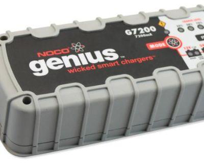 Noco Genius 7200 Smart Battery Charger Charges Both 12 24 Volt Batteries 12v 24v