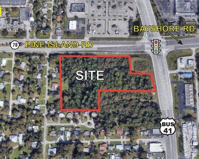 7.2 Acre Corner Site / Pine Island Road